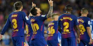 Barça'dan gol şov