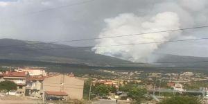 Kütahya'da Orman Yangını Sürüyor