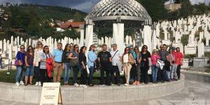 Çomü'nün 25'inci Yılı Dolayısıyla Bosna Hersek'te Peyzaj Kongresi Düzenlendi