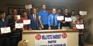 MHP'de mahalle başkanları tamam!