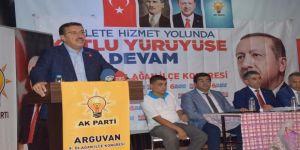 Bakan Tüfenkci: Türkiye'yi Her Alanda En Az Üç Kat Büyüttük