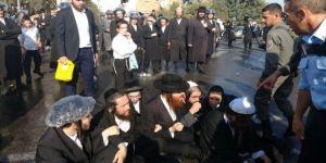 İsrail'de Haredi Yahudileri yine polisle çatıştı