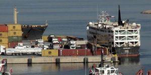 Gemiyle 2 bin 158 angus getirildi