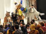 Engelli çocukların tiyatro keyfi