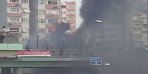 Ataköy Metrosu'nda Yangın Paniği
