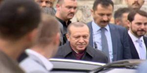 Erdoğan Cuma Namazını Yavuz Sultan Selim Camii'nde Kıldı