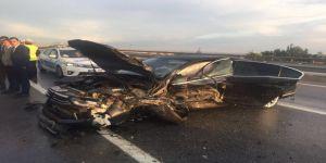 """Mhp'li Demirel Trafik Kazası Geçirdi: """"1 Ölü, 5 Yaralı"""