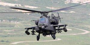 Askeri helikopteri düştü