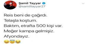 Milletvekili Tayyar'dan Esprili Mesaj