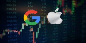 Google, Apple'ı 2 dakikalığına satın aldı!