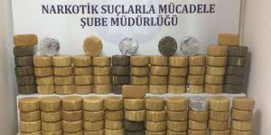 Kocaeli'de hurma kutularından 184 kilo eroin çıktı
