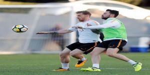 Galatasaray Derbiye Sıkı Hazırlanıyor
