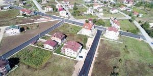 Başiskele Belediyesi Yol Yapım Çalışmalarını Sürdürüyor