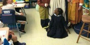 ABD'de siyahi çocuğa tasma taktılar!