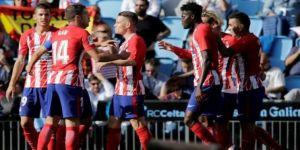 Atletico Madrid tek golle kazandı