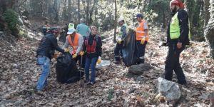 Yıldırım Kent Ormanı'nda Temizlik Harekatı