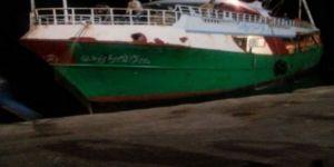 Mısır gemisine el konuldu