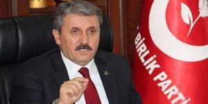 Destici'den, Erdoğan ve 'ittifak' açıklaması