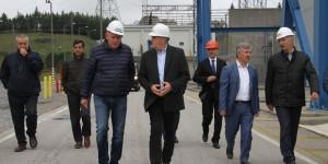 Başkan Toçoğlu, Enka Santralleri'ni Ziyaret Etti