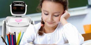 Kocaeli Bilişim Fuarı'na Gelenleri İnsansı Robot Sanbot Karşılayacak
