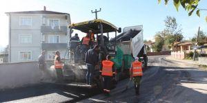 Arifiye'ye 2 Bin 800 Ton Sıcak Asfalt Atıldı