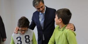 Başkan Alemdar, Minik Öğrencilerin Misafiri Oldu