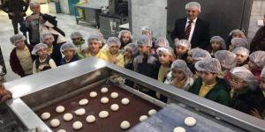Ekmeğin nasılyapıldığını öğrendiler