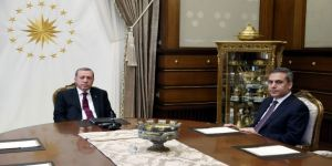 Erdoğan, Mit Müsteşarı Fidan'ı Kabul Etti