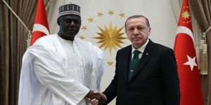 Erdoğan, Nijer Ulusal Meclis Başkanı ile görüştü