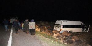 Tarım İşçilerini Taşıyan Minibüs Kayalıklara Çarptı: 9 Yaralı