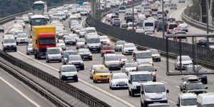 Trafikteki araç sayısı 9 ayda 850 bin arttı
