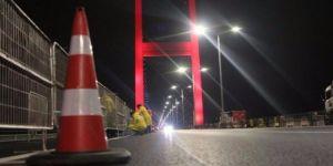 15 Temmuz Şehitler Köprüsü trafiğe kapatıldı!