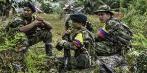 Kolombiya'da ELN ile FARC muhalifleri çatıştı