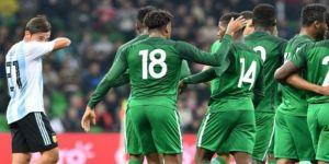 Nijerya, Arjantin'i dağıttı!
