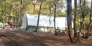 Belgrad Ormanı'nda kumar çadırı!