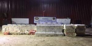 Hakkari'de 28 Bin Paket Kaçak Sigara Ele Geçirildi