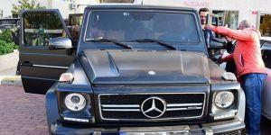 Murat Boz'un yeni arabası