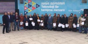 Türk Telekom, Sakaryalı Kadınlara Teknoloji Eğitimi Verdi