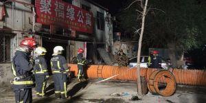 Pekin'de büyük yangın: 19 ölü