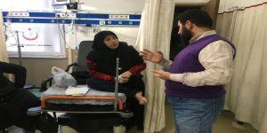 Hastaneye Gelen Mültecilere Tercümanlı Hizmet