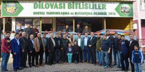Toltar, Bitlislilere konuk oldu
