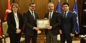 Azerbaycan Ve Rusya Ticaret İçin Bursa'da
