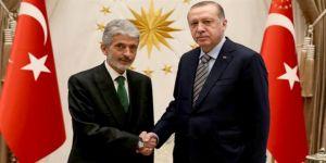 Cumhurbaşkanı Erdoğan, Tuna'yı kabul etti