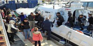 Çeşme'de 65 Göçmen Ölüme Yolculukta Yakalandı