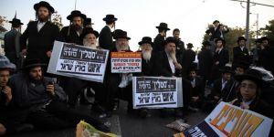 Ortodoks Yahudiler, İsrail'i protesto etti