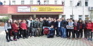 Trabzonsporlu Yusuf Ve Abdurrahim'den Anlamlı Ziyaret