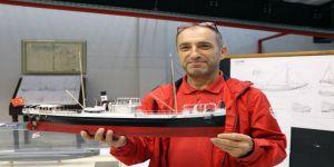 Merakla Başladığı Gemi Modelciliği İşini 45 Yıldır Sürdürüyor