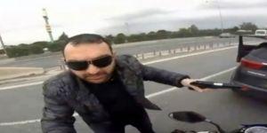 Motosikletliye Silah Çeken Sürücü Gözaltında