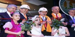 Kılıçdaroğlu, Mersin'de Temel Atma Ve Açılış Törenine Katıldı
