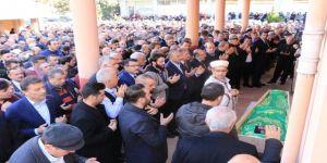 Trabzonspor camiası cenazede bir araya geldi